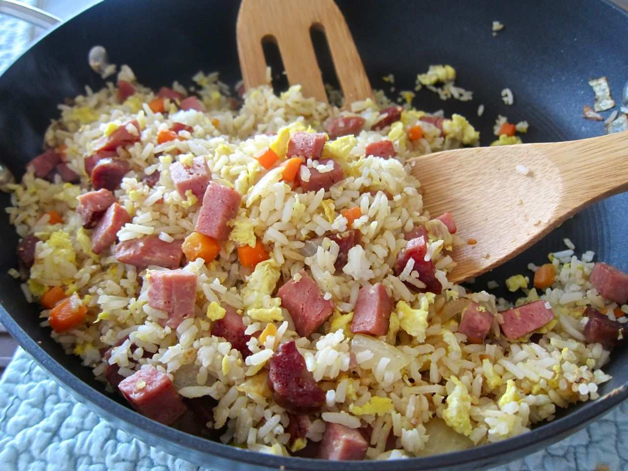 ... spam fried rice spam fried rice flickr photo sharing spam fried rice
